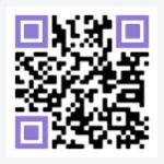 휴넷평생교육원 app 다운로드 QR코드