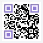 모바일 웹 접속 QR코드
